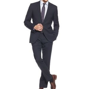 HUGO BOSS Charcoal Gray The Jam 76 Sharp Suit 40S